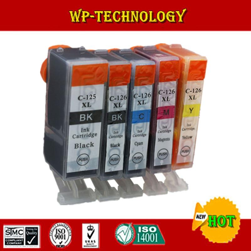 Compatível para Canon PGI125 CLI126 cartuchos de