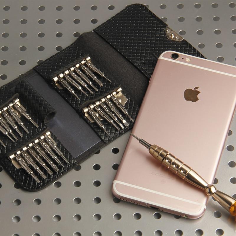 PENGGONG 25Pcs täpsusega minikruvikeeraja elektrooniliste - Tööriistakomplektid - Foto 6
