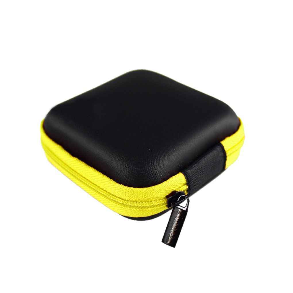 Storage 1Pc Hold Case Storage Carrying Hard Bag Box for Earphone Headphone Earbuds memory Card Outdoor Camping Climbing Hot Sale