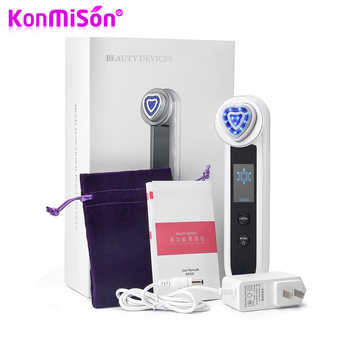 KONMISON LED Photon Therapy RF Radio Frequency Facial Beauty Machine EMS RF Lifting Ion Cleansing Vibration Eye Face Massager - DISCOUNT ITEM  42% OFF Beauty & Health