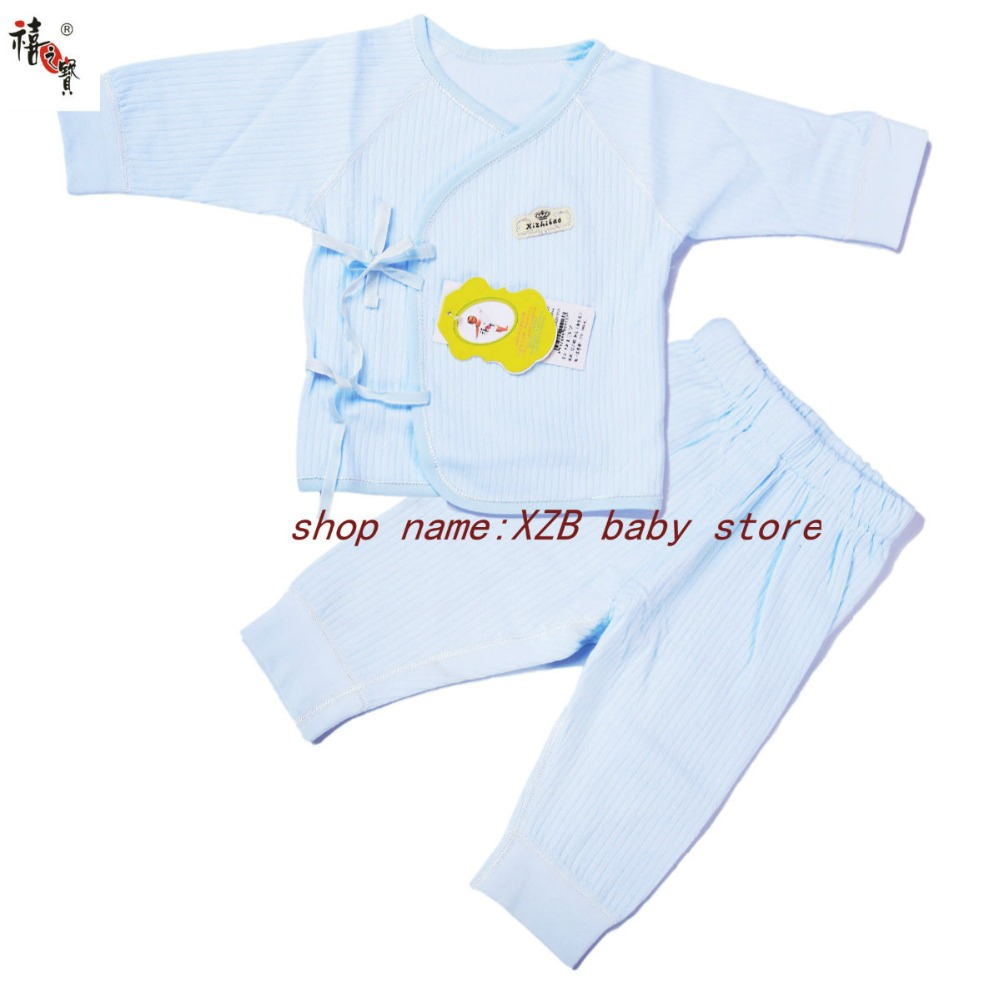 100% cotton three kinds of soft and comfortable newborn clothes, boys and girls clothes, baby clothes, underwear suits.