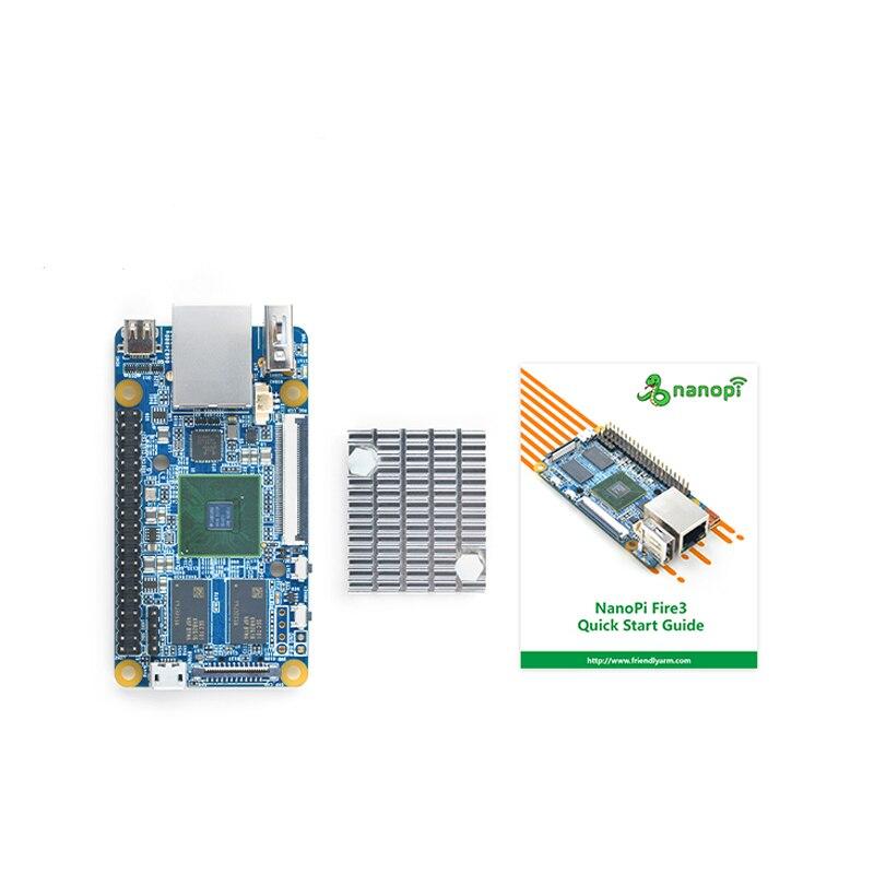 NanoPi Fire3 Development Demo Board S5P6818 1 4GHz CPU 1GB DDR3 GPIO Port  support Android Debian FriendlyCore