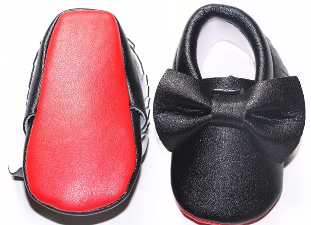 a6c19860268 Hot Newborn Red Sole Baby Girl Shoe Tassel Bow Toddler Moccasins Soft Bottom  Baby Infant Kids