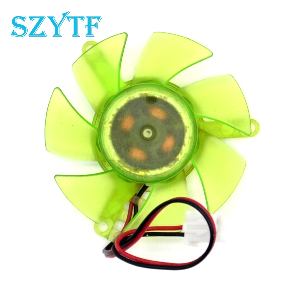 1pcs video card fan 12V 0.2A PLD05010S12H video card fan graphics card fan blade diameter 45mm hole distance 39mm 4pin mgt8012yr w20 graphics card fan vga cooler for xfx gts250 gs 250x ydf5 gts260 video card cooling