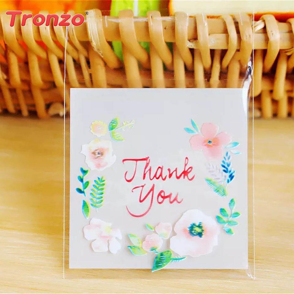 Tronzo 100 հատ հատ Շնորհակալություն Gift - Տոնական պարագաներ