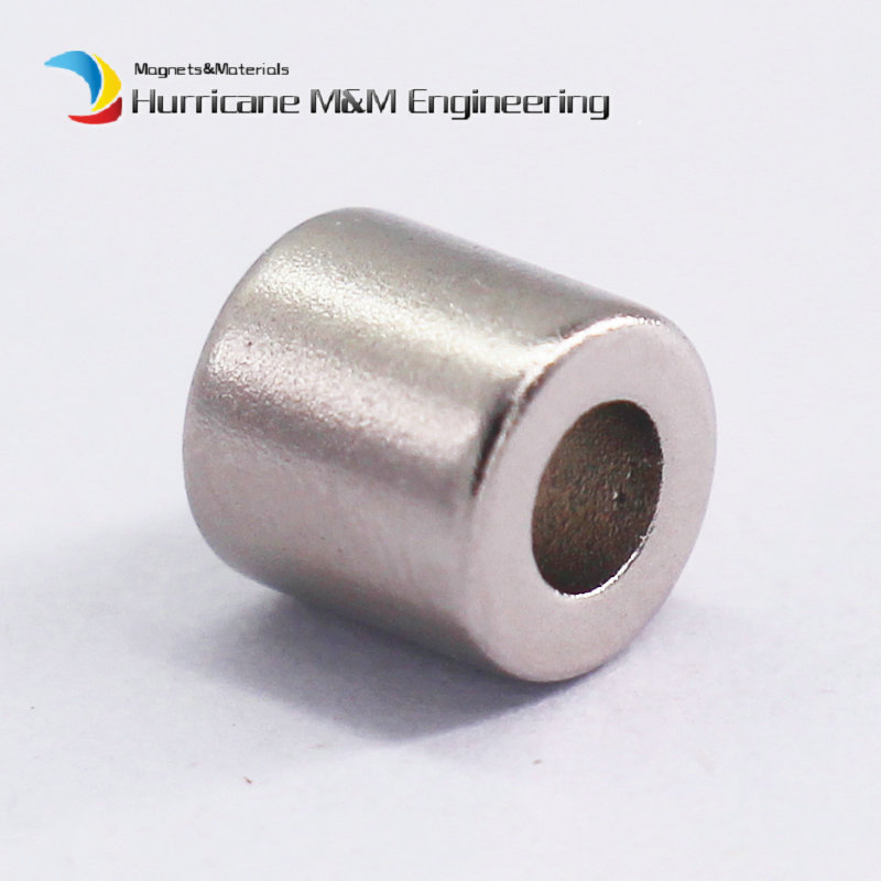 1 Pack NdFeB Magnet Ring OD 6.35x3.175x6.35 mm Dia. 1/4*1/8*1/4 Strong Neodymium Permanent Magnets N42 Rare Earth Magnets 1 pack diametrically ndfeb magnet ring diameter 9 53x3 18x3 18 mm 3 8 1 8 1 8 tube magnetized neodymium permanent magnets