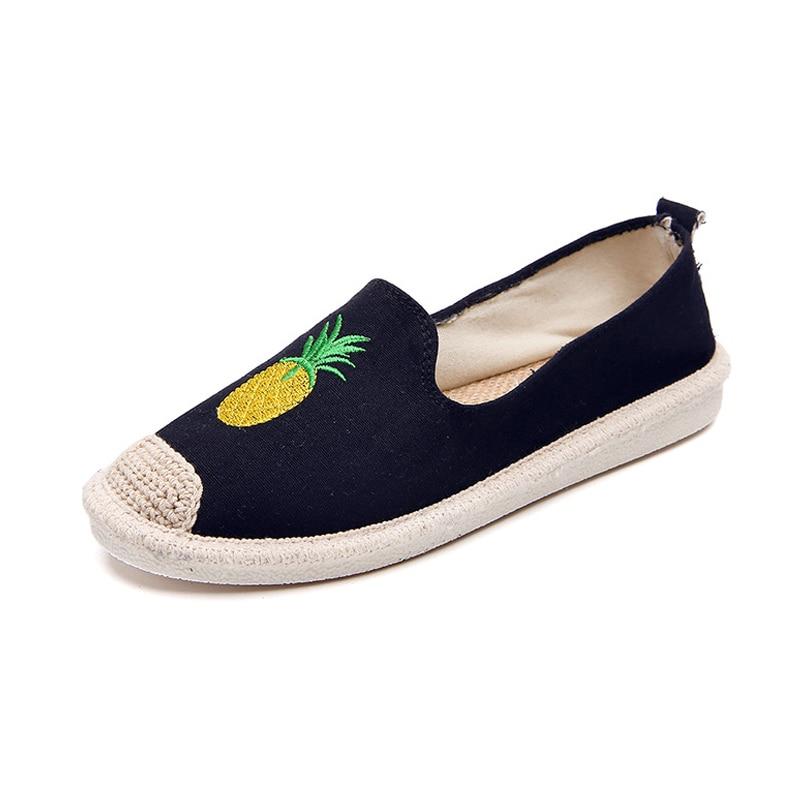 Beige Casual Transpirable Zapatos 1 Mocasines On Lona Wml99 Moda azul Par Planos De negro Para Slip Chica Mujer rosado wqzz1ZpY