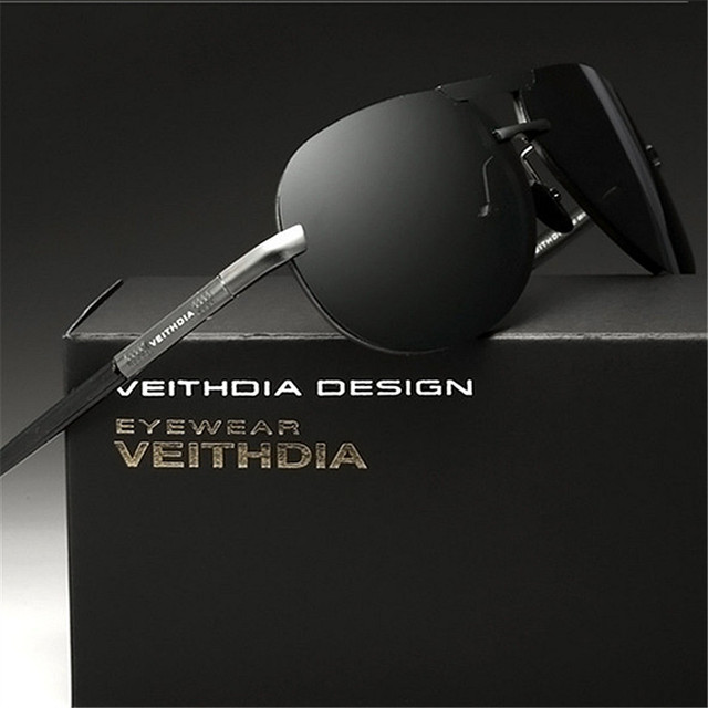 Famous Brand VEIYHDIA Men's Polarized Sunglasses Driving Sun Glasses Anti-glare Male Driver Outdoors UV400 Glasses