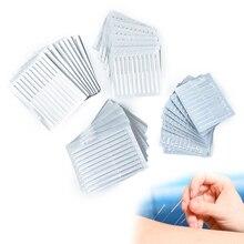 100 Needle Sterile Acupunture Asepsis For Ears Skin Detox  Needles Disposable Sterile