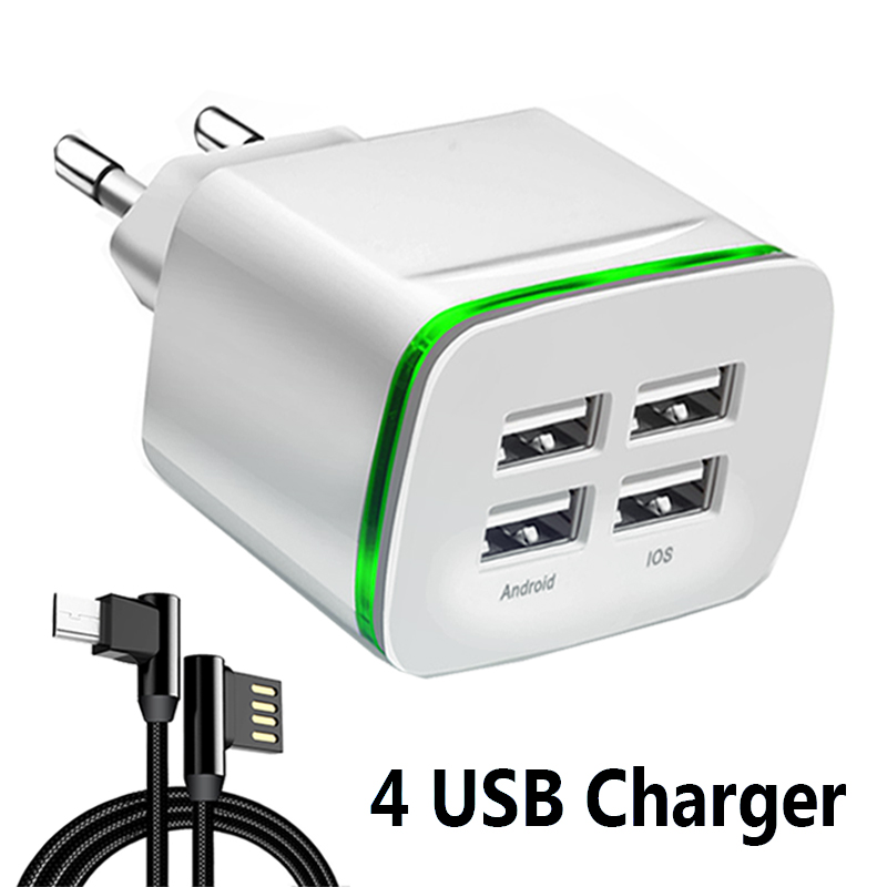 5V/4A Quick Charge Charger Cable Phone Charger