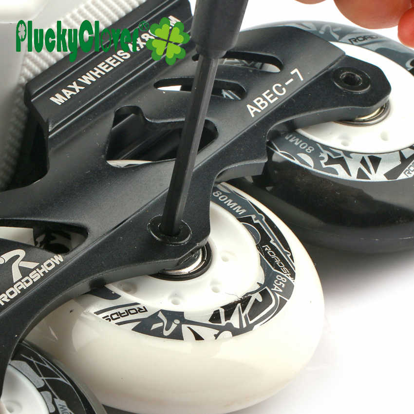 Inline Skate Fix Handvat T-Tool Quad Skates Moersleutel Schaatsen Skateboard Tool Hex Inbussleutel Tool T Vorm tool Voor Roller Skate