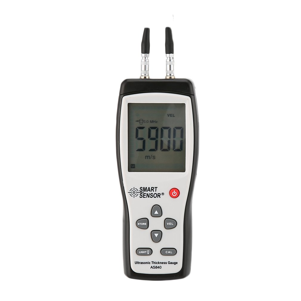 SMART SENSOR AS840 Digital Ultrasonic Thickness Gauge Sound Velocity Meter Metal Depth tester Smart Sensor with LCD display Sale