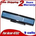Jigu 7800 mah batería del ordenador portátil para acer emachines e525 e627 e725 d525 d725 g620 g627 g725 e627-5019 as09a31 as09a41 as09a51