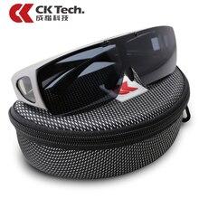CK Tech lunettes de sécurité polarisées anti vent de cyclisme, lunettes de protection contre les chocs, pour lextérieur