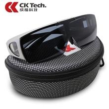 Ck tech. óculos de segurança à prova de vento, polarizados, à prova de choque, para dirigir, ciclismo, esportes, óculos de proteção ao ar livre