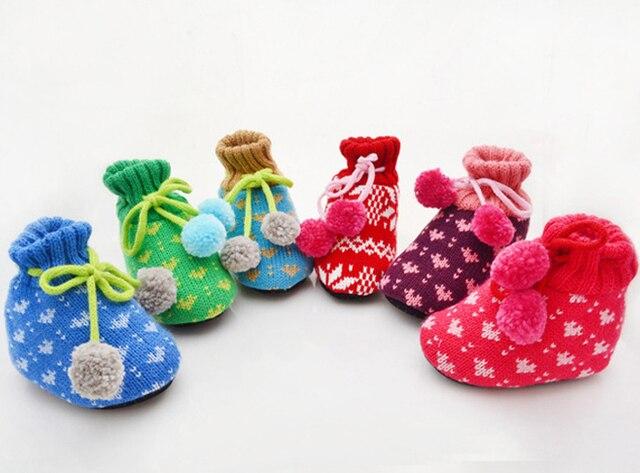 6 Parenpartij Babyschoenen Haak Baby Schoenen Wollen Babysokjes