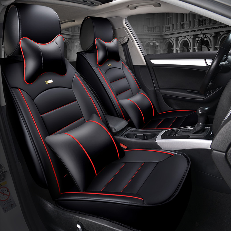 5Seats( Front+Rear)car Styling Car Seat Covers For Audi