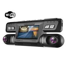 Видеорегистратор Pruveeo B80 с WiFi, 4K Dual 1080P спереди и внутри, видеорегистратор для автомобилей, грузовиков, такси