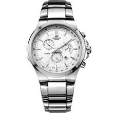 CASIO Часы повседневные деловые Водонепроницаемый кварцевые мужские Таблица Три глаз стали мужские часы EFR-500D-7A EFR-500D-1A