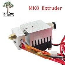 3D Yazıcı kiti Yeni MK8 Ekstruder Için Soğutma Fanı Ile 3D Yazıcı Parçaları Alüminyum Ekstruder Filament 1.75mm 3D Için aksesuar...