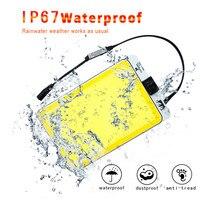 Comprar Luz de trabajo al aire libre recargable tienda de campaña portátil IP65 proyector cob lámpara telescópica