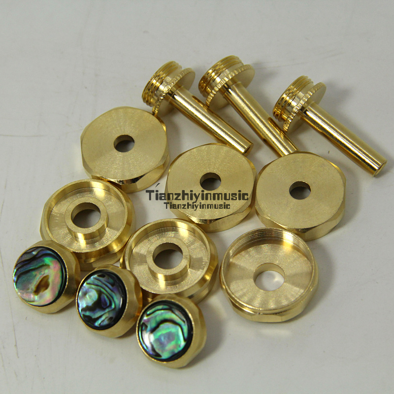 Trumpet Valve Finger Buttons Repair Parts