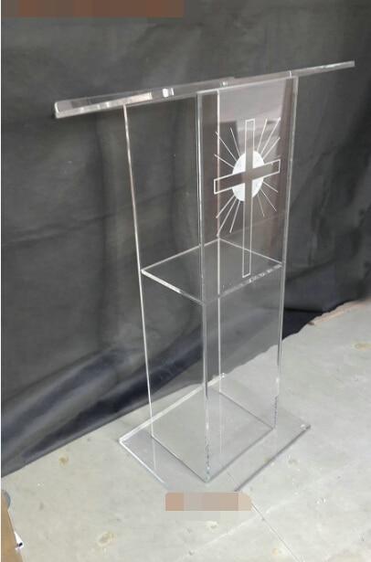 Christian church podium lectern acrylic podium church synod