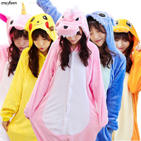 Pajamas Adult Pokemon Costume Pikachu Cosplay Kigu Umbreon Kitty Dragon Stitch Spider Iron Superman Pyjamas Onesie Pajama