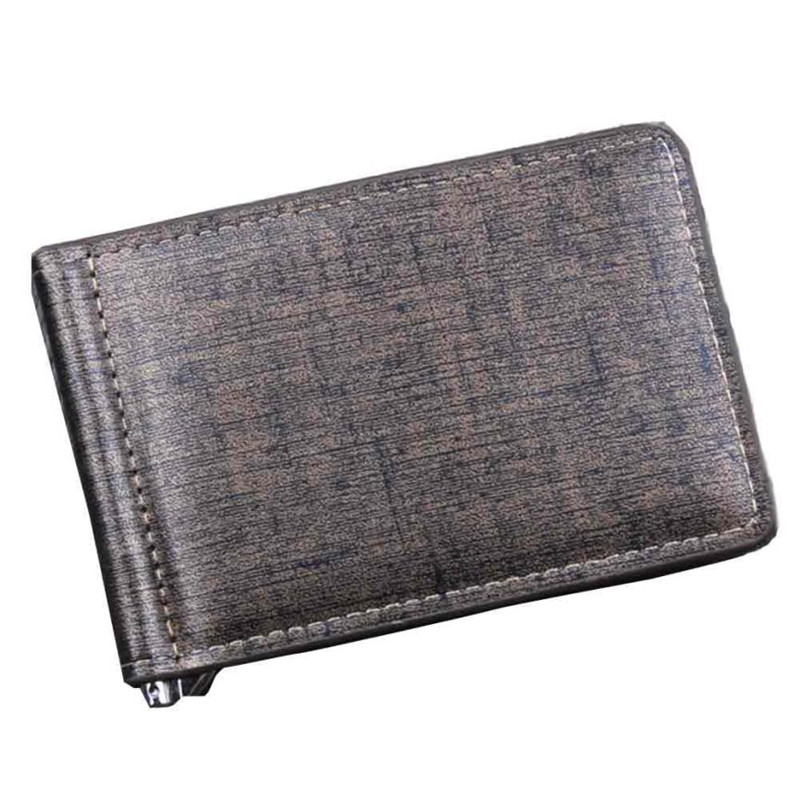 Men Bifold Business Leather Men Wallet Purse Money Clip ID Credit Card organized Purse Pockets carteira masculina brand недорго, оригинальная цена