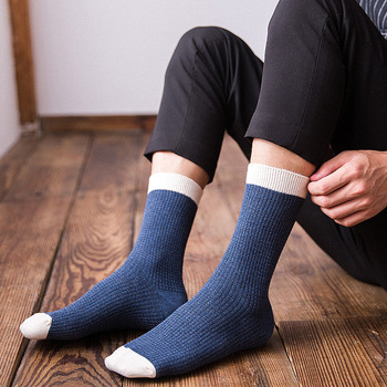 2021 Brand New High Quality Men Cotton Harajuku Happy Socks Compression Socks Men's  Business Dress Long Socks Gifts 5 Pairs Hot