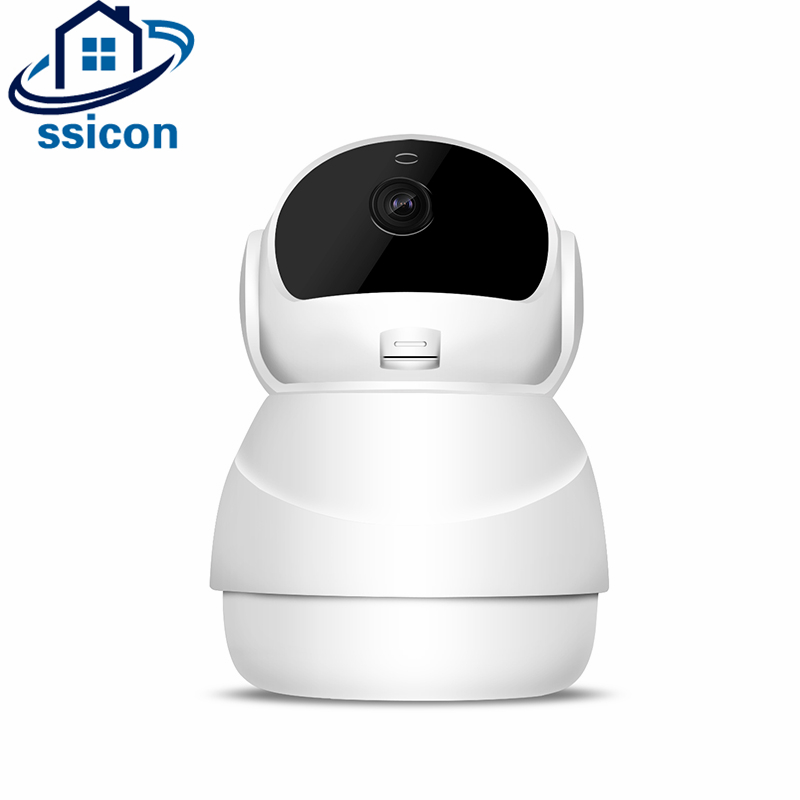 SSICON 2MP Home Security IP Camera Wireless Smart WiFi Camera WI-FI Audio Record Surveillance Baby Monitor HD Mini CCTV Camera leshp smart home security camera system personal wireless lighting table lamp smart 2mp image sensor wifi mini ip camera
