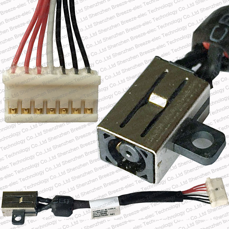 Genuine NEW LAPTOP NOTEBOOK AC DC Power Jack with Cable Harness For ...