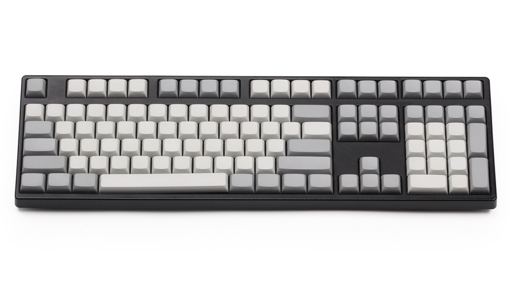 XDA Keycaps Blank PBT For Cherry MX Switches ANSI ISO Layout 61 87 108 112 142 Keys For Cherry MX Switches Mechanical Keyboard