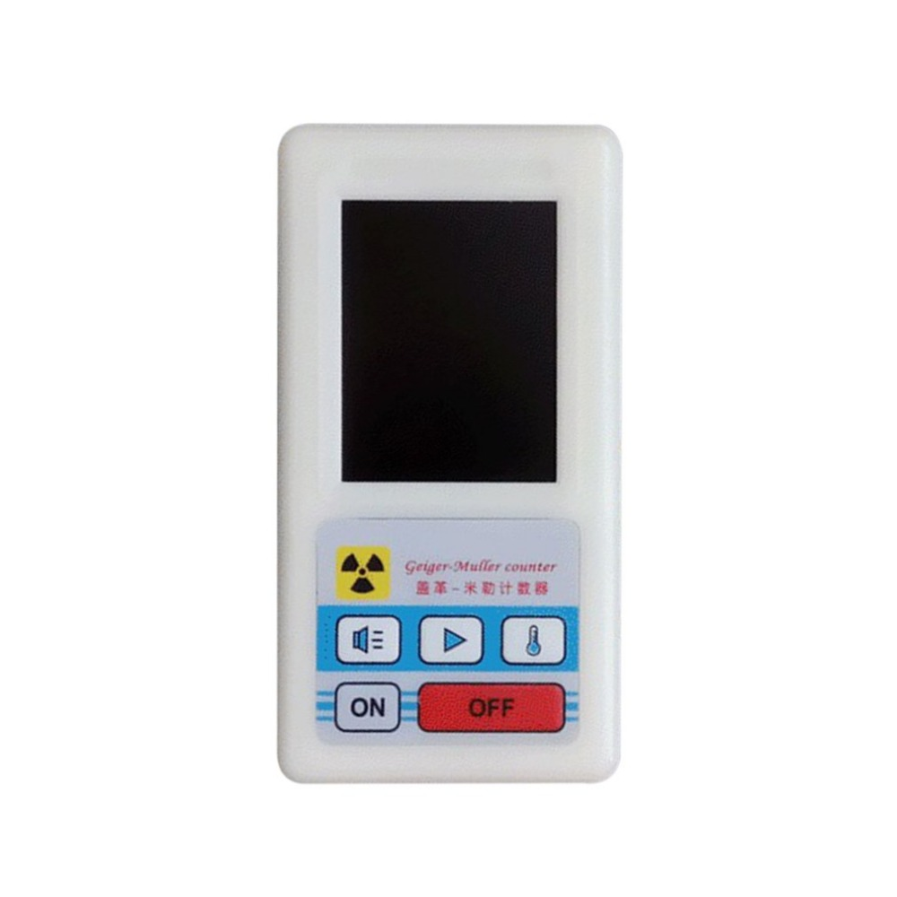 лучшая цена Counter Nuclear Radiation Detector Gamma Ray X-ray Dosimeters Marble Tester Display Screen Radiation Dosimeter Geiger Counters