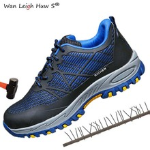 Men and women Safety Shoes Breathable Insulating shoes Anti-smashing Anti-piercing Boots Anti-skid Work plus size