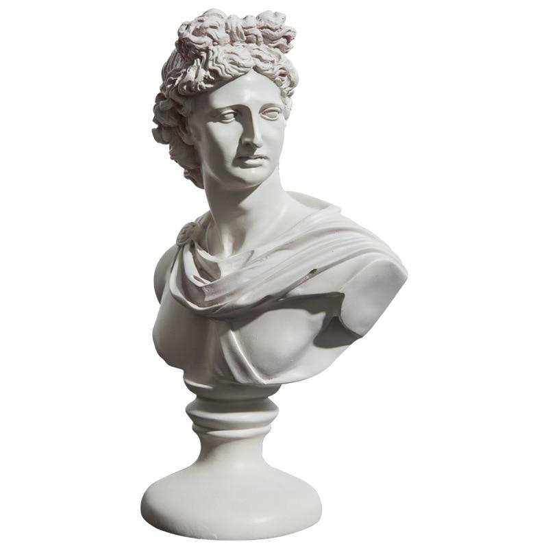 Venus Bust Goddess Figure Statue Ceramic Crafts Roman Mythology Home Accessories L2938Venus Bust Goddess Figure Statue Ceramic Crafts Roman Mythology Home Accessories L2938