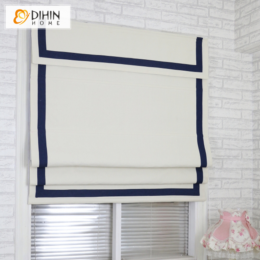 Modern White Fabric With B Band And Top