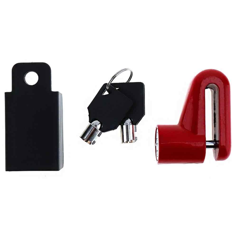 Tahan Air Sepeda/Motor Keamanan Anti-Theft Disc Brake Rotor Sepeda Lock