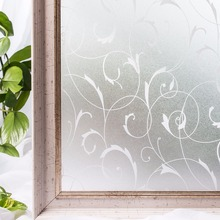CottonColors Home Bathroom Kitchen Window Glass Films Sticker , No-Glue 3D Static Decorative Privacy Film Size 60x 200Cm