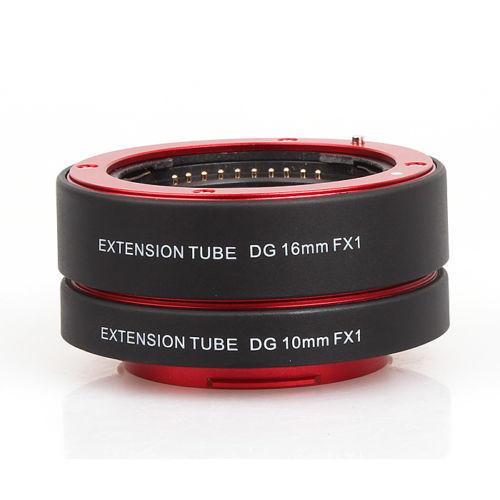RED Auto Focus Macro Extension Tube Adapter 10 16mm for Fujifilm FX1 camera