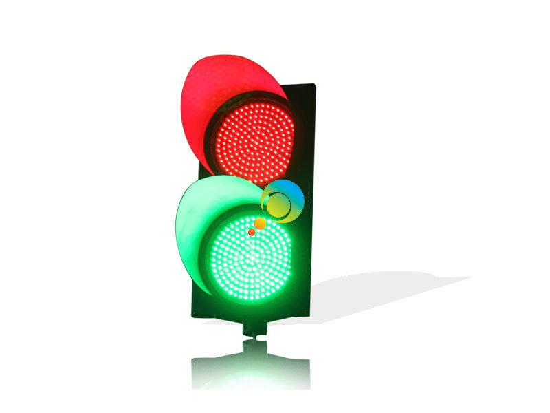 New Design Road Safety Waterproof PC Housing 300mm Red Green LED Traffic Signal Light