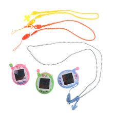 1PC Virtual Cyber Digital Pets Electronic Tamagochi Pets Retro Game Funny Toys Handheld Game Machine Gift For Kids Color Random(China)