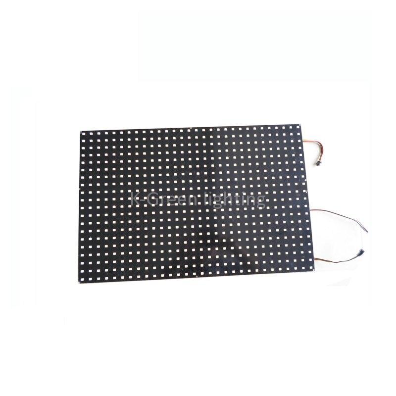 5X APA102 RGB couleur P20 600 pixels matrice fibre panneau plaque écran affichage express livraison gratuite