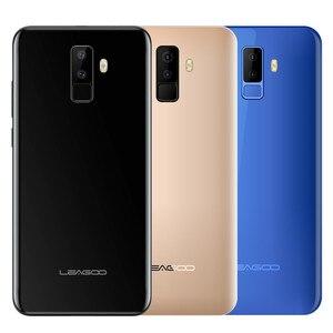 """Image 5 - Leagoo M9 5.5 """"18:9 شاشة كاملة أربع كاميرات أندرويد 7.0 MT6580A رباعية النواة 2GB RAM 16GB ROM 8.0MP بصمة 3G WCDMA الهاتف المحمول"""