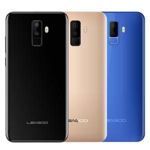 "Image 5 - Leagoo M9 5.5 ""18:9 Full Screen Vier Cams Android 7.0 MT6580A Quad Core 2 GB RAM 16 GB ROM 8.0MP Vingerafdruk 3G WCDMA Mobiele Telefoon"