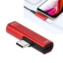2 in 1 USB Type C 3 5mm Jack Audio Headphone Adapter For Xiaomi mi 9