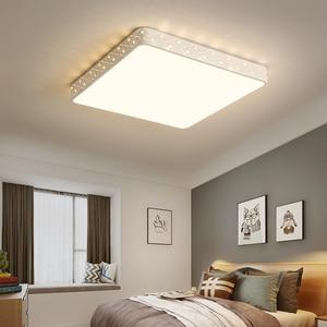 Image 5 - Vissanfo nowoczesne 220v led do montażu podtynkowego lampy sufitowe do salonu sypialnia oprawy oświetleniowe pilot zdalnego sterowania kuchnia lampa