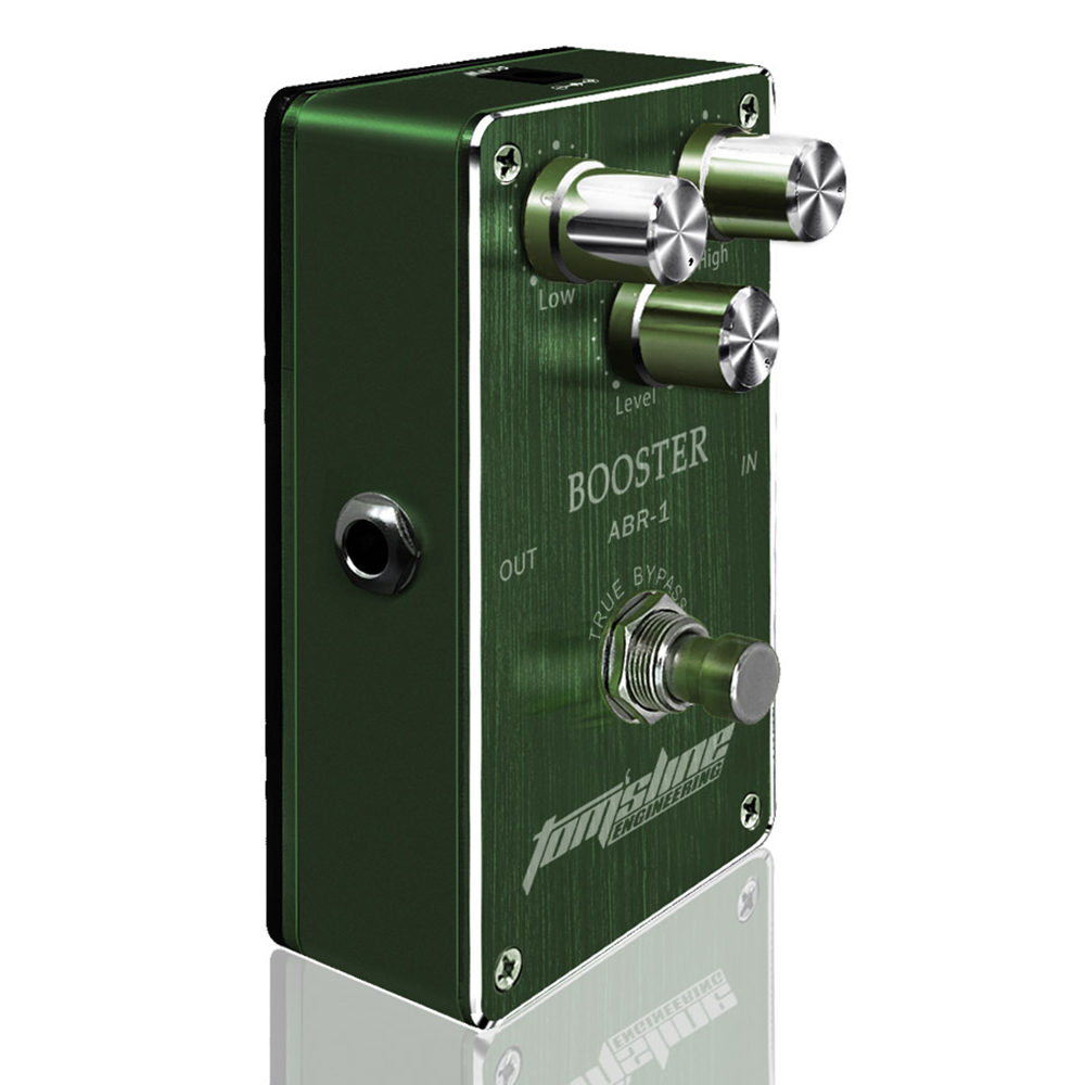 Tomsline ABR-1 Booster Electric Guitar Effect Premium Analogue Pedal True Bypass AROMA new aroma adr 3 dumbler dumble amp sound overdrive mini analogue effect true bypass