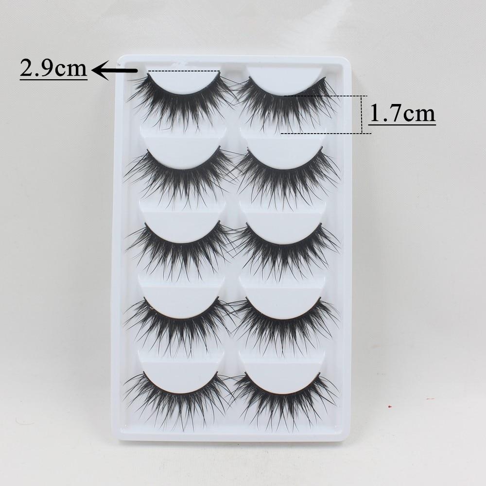 Blythe Doll Long Eyelashes 5 pairs 10pcs 2