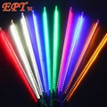 10Set 8Tube/set New 30CM Romantic Meteor Shower Rain Tubes LED Christmas Wedding Garden Decoration String Light 110V/220V/EU/US
